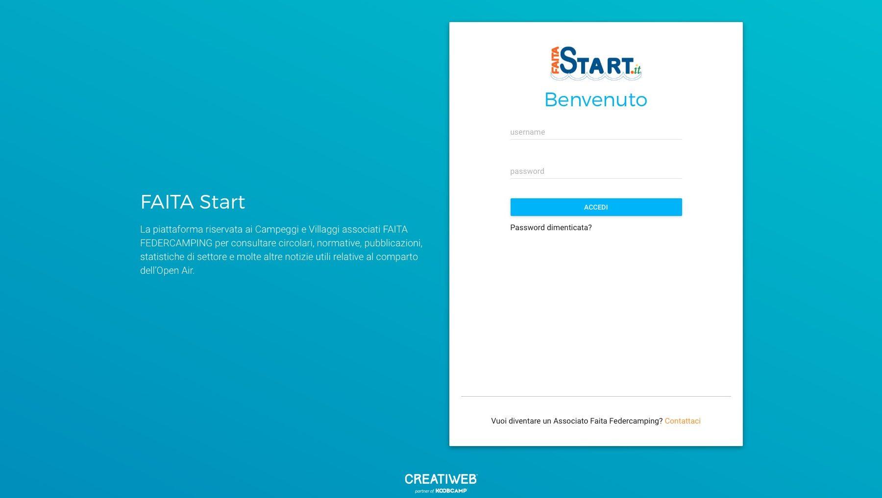 Login_1 Faita Start
